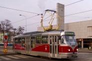 modernizace tramvajového vozidla T3 na typ T3R.PLF