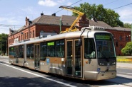 new two-sectional tramcar VarioLF2 plus