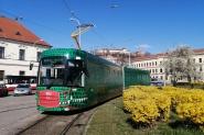 nová tramvaj EVO2 DRAK